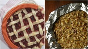 pie tips-aluminum foil